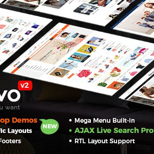 Revo – 多用途 WooCommerce WordPress 主题 (含手机布局)